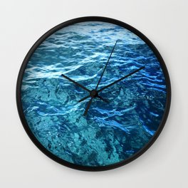 The Ocean's Surface Wall Clock