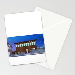 Modern House No. 8 Stationery Cards
