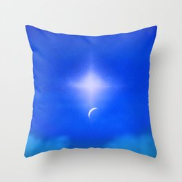 4 Light Years and Counting Throw Pillow