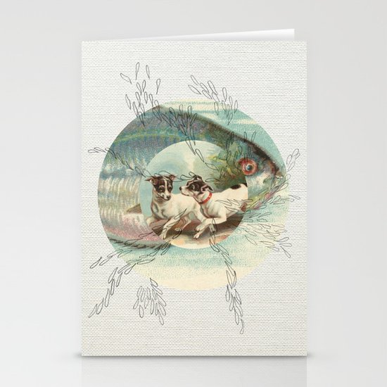 Of the Ocean Stationery Cards