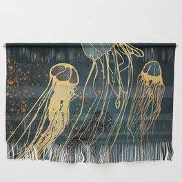 Metallic Jellyfish Wall Hanging