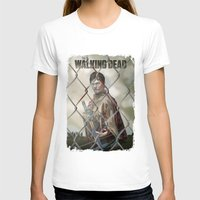 walking dead T-shirts featuring The Walking Dead by ketizoloto