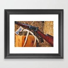 Winchester Model 92 Framed Art Print