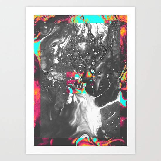 OBSTACLE 1 Art Print