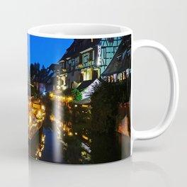 Colmar is still more beautiful in the night - Fine Arts Photography Coffee Mug