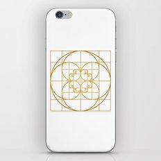 Golden Splash iPhone & iPod Skin