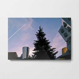 Ray and Maria Stata Center Metal Print