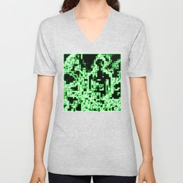 Neon abstract Unisex V-Neck
