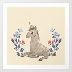 Unicorn Art Print