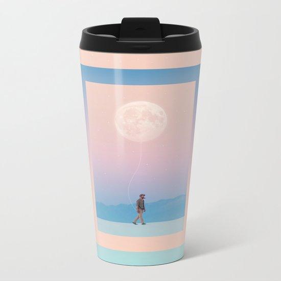 Moon Walker Metal Travel Mug