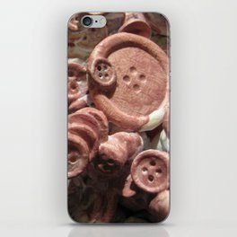 Unravel it iPhone Skin