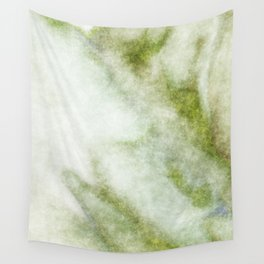 stained fantasy greenish veins Wall Tapestry