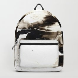 Black + White 2 Backpack