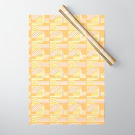 Geo Sunrise Wrapping Paper
