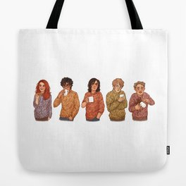 Marauders tea party Tote Bag
