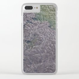 Water Currents No3 Clear iPhone Case