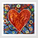Painted Heart by paintingsbygretzky