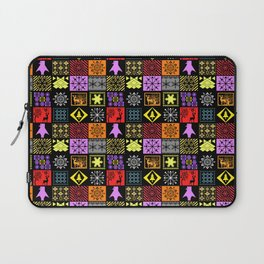 Christmas patterns Laptop Sleeve