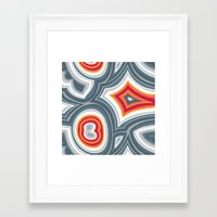 agate Framed Art Prints featuring Agate by Alex Morgan