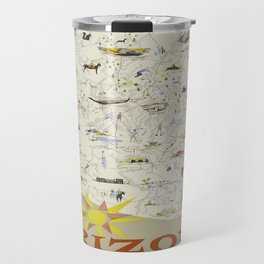 Vintage poster - Arizona Travel Mug