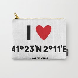 I LOVE BARCELONA Carry-All Pouch