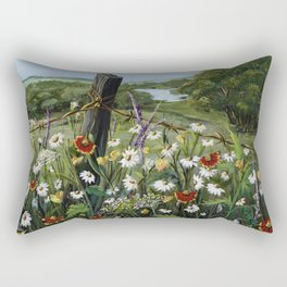 Wild Daisies Rectangular Pillow