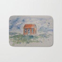 Wee house drawing Bath Mat