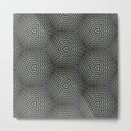Gray And Grayer Metal Print