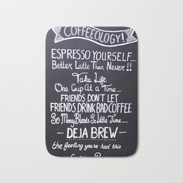 Coffeeology Bath Mat