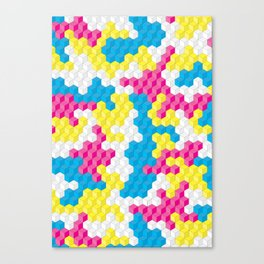CUBOUFLAGE CANDY Canvas Print