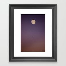Aligned Framed Art Print