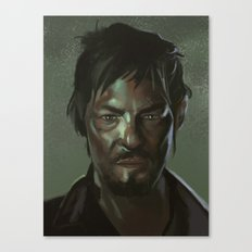 Daryl the Zombie Hunter Canvas Print