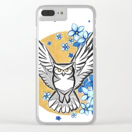 Oracle Owl Clear iPhone Case