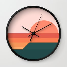 Sunseeker 08 Landscape Wall Clock