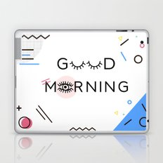 Good Morning, Memphis Style Laptop & iPad Skin