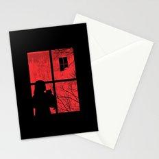 A Strange Encounter Stationery Cards