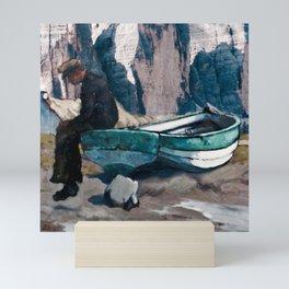 Beached Mini Art Print