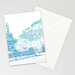 Princes Street Gardens Stationery Cards