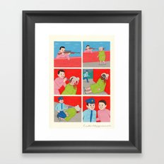 Know your Enemy Framed Art Print