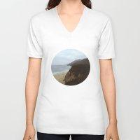 big sur V-neck T-shirts featuring Big Sur by mzsphoto
