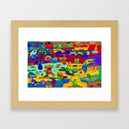 the king's judgment Framed Art Print