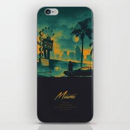HOTLINE MIAMI 2018 GREEN/YELLOW iPhone Skin