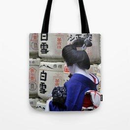 Geisha Maiko Photo Tote Bag