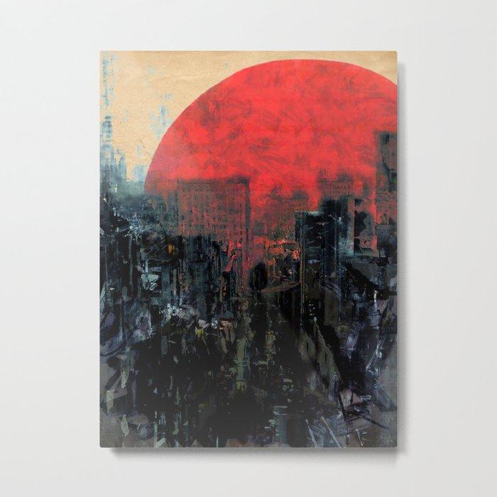 Last Sunshine Metal Print