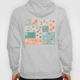 Woodland counting Hoody
