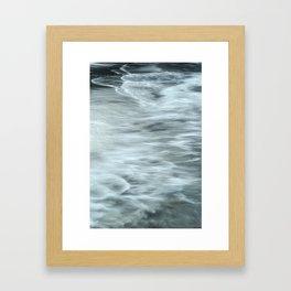 Water Patterns Framed Art Print