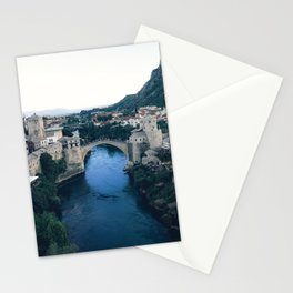 Bridge in Mostar, Bosnia Stationery Cards