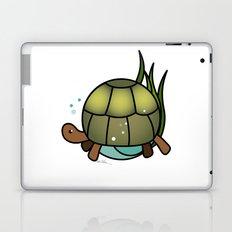 Turtle in a Circle Laptop & iPad Skin
