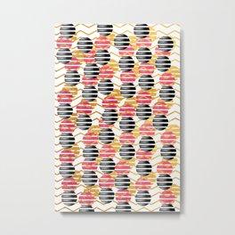 Into Stripes Metal Print