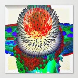Pearl Head Flower ONE Canvas Print